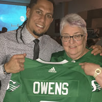 Thumbnail of Chad Owens, Carolyn, and the Jersey
