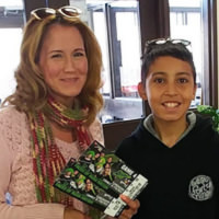 Thumbnail of Dorothy Kenney, Winner of Two Tickets to see the Saskatchewan Rush