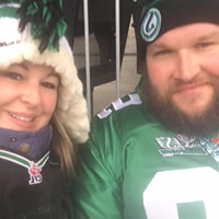Thumbnail of Travis McKillop, Winner of Two Tickets to see the Saskatchewan Roughriders